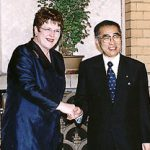 7月22日のできごと(何の日)【小渕恵三首相】ニュージーランド首相と会談