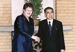 7月22日は何の日【小渕恵三首相】ニュージーランド首相と会談