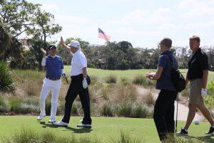 2月11日は何の日【安倍晋三首相】米・トランプ大統領とゴルフ
