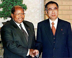 12月14日は何の日【小渕恵三首相】タンザニア・ムカパ大統領と会談
