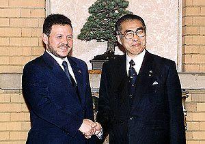 12月2日は何の日【小渕恵三首相】ヨルダン・アブドラ国王と会談