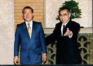 5月19日は何の日【小渕恵三首相】ペルー・フジモリ大統領と会談