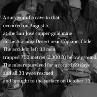10月13日のできごと(何の日) チリ落盤事故から69日、作業員33人全員救出