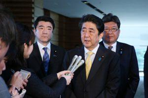4月24日は何の日【安倍晋三首相】米・トランプ大統領と電話会談