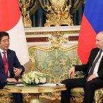 4月27日のできごと【安倍晋三首相】ロシア・プーチン大統領と会談