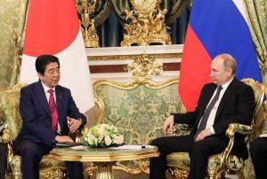 4月27日は何の日【安倍晋三首相】ロシア・プーチン大統領と会談