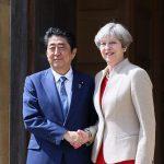 4月28日のできごと【安倍晋三首相】英・メイ首相と会談