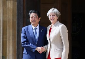 4月28日は何の日【安倍晋三首相】英・メイ首相と会談