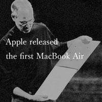 1月14日のできごと(何の日) MacBook Air発表