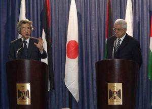 6月13日は何の日【小泉純一郎首相】パレスチナ自治政府議長と会談