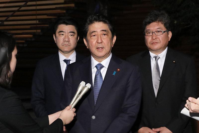 5月21日のできごと 安倍晋三首相、北朝鮮ミサイルは「世界に対する挑戦」