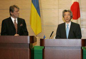 7月21日は何の日【小泉純一郎首相】ウクライナ大統領と会談