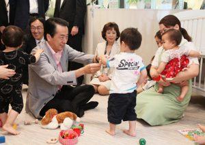 7月24日は何の日【菅直人首相】保育所を視察