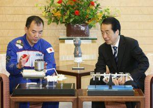7月26日は何の日【菅直人首相】野口聡一宇宙飛行士と会談