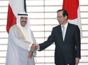 7月28日は何の日【福田康夫首相】クウェート・ナセル首相と会談