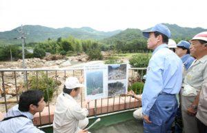 7月29日は何の日【麻生太郎首相】中国・九州地方の豪雨被災地を訪問