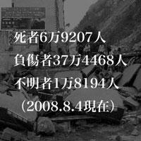 5月12日のできごと 四川大地震