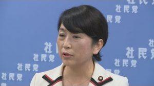7月25日は何の日【社民党・福島瑞穂党首】辞任表明