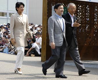 7月20日のできごと【皇太子ご夫妻】愛・地球博をご見学