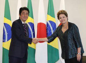 8月1日は何の日【安倍晋三首相】ブラジル・ルセフ大統領と会談