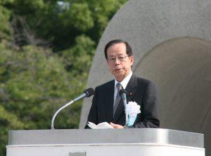 8月6日は何の日【福田康夫首相】平和記念式典に出席