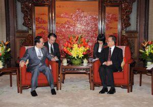8月8日は何の日【福田康夫首相】中国首脳と会談