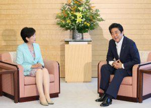 8月4日は何の日【安倍晋三首相】東京都・小池百合子知事と会談