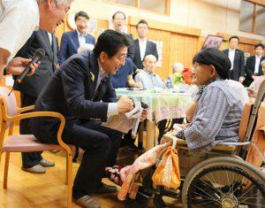 7月1日は何の日【安倍晋三首相】福島県訪問