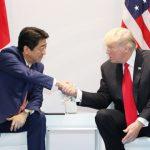 7月8日のできごと(何の日)【安倍晋三首相】米・トランプ大統領と会談