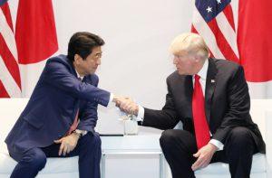 7月8日は何の日【安倍晋三首相】米・トランプ大統領と会談