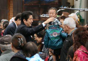 12月1日は何の日【安倍晋三首相】岩手県釜石市を訪問