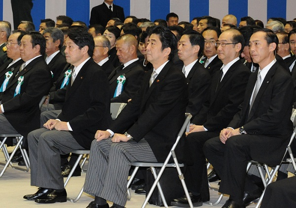 10月26日のできごと(何の日)【安倍晋三首相】自衛隊殉職隊員の追悼式に出席