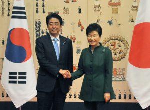 11月2日は何の日【安倍晋三首相】韓国・朴槿恵大統領と初会談
