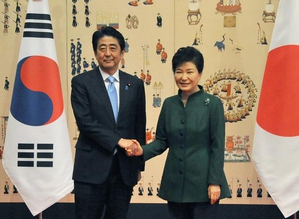 11月2日のできごと(何の日)【安倍晋三首相】韓国・朴槿恵大統領と初会談