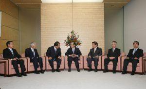 10月4日は何の日【福田康夫首相】地方重視を強調
