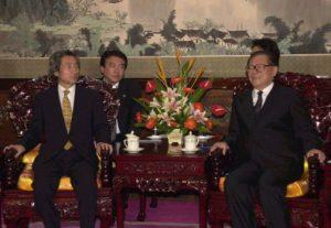 10月8日は何の日【小泉純一郎首相】中国・江沢民国家主席と会談