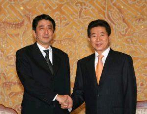 10月9日は何の日【安倍晋三首相】韓国・盧武鉉大統領と会談