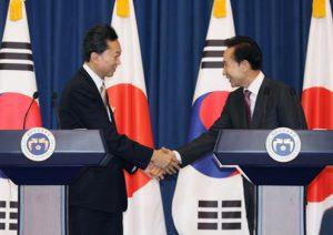 10月9日は何の日【鳩山由紀夫首相】韓国・李明博大統領と会談