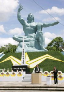 8月9日は何の日【安倍晋三首相】平和祈念式典に出席
