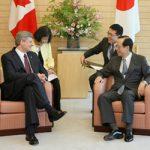 7月10日のできごと(何の日)【福田康夫首相】カナダ・ハーパー首相と会談