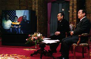 11月5日は何の日【小渕恵三首相】向井千秋宇宙飛行士と交信