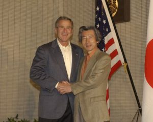 10月17日は何の日【小泉純一郎首相】米・ブッシュ大統領と会談