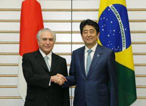 10月19日は何の日【安倍晋三首相】ブラジル・テメル大統領と会談