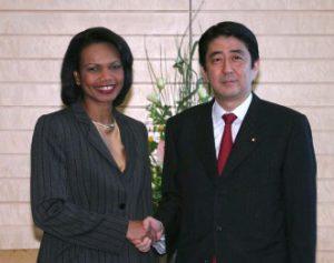 10月19日は何の日【安倍晋三首相】米・ライス国務長官と会談