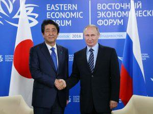 9月2日は何の日【安倍晋三首相】ロシア・プーチン大統領と会談