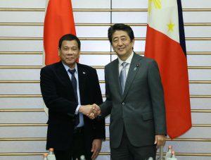 10月26日は何の日【安倍晋三首相】フィリピン・ドゥテルテ大統領と会談