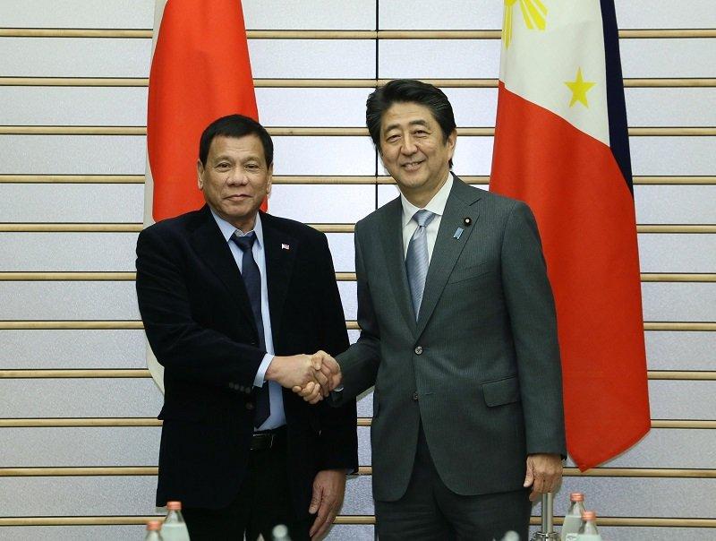 10月26日のできごと(何の日)【安倍晋三首相】フィリピン・ドゥテルテ大統領と会談