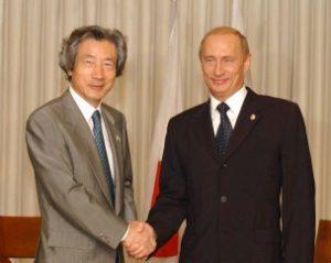 10月20日は何の日【小泉純一郎首相】ロシア・プーチン大統領と会談