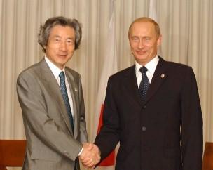 10月20日のできごと(何の日)【小泉純一郎首相】ロシア・プーチン大統領と会談