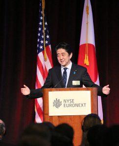 9月25日は何の日【安倍晋三首相】「Buy my Abenomics」